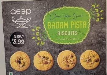 Deep Badam Pista Biscuit 400gm