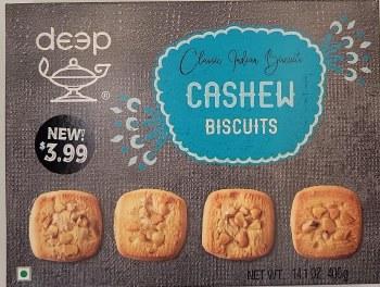 Deep Cashew Biscuits 400gm