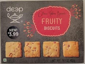 Deep Fruity Biscuits 400gm