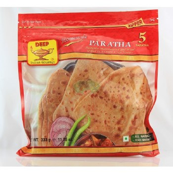 DEEP FROZEN HOMESTYLE PARATHA 20 PC - FAMILY PACK