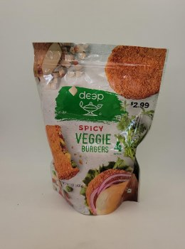 Deep Spicy Veggie Burger 4pc