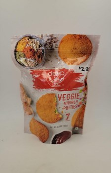 Deep Masala Veggie Patties 7pc