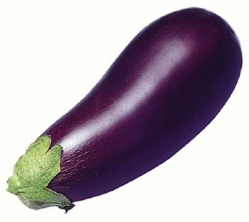 Fresh American Eggplant Big - Sold by Piece