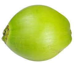 Fresh Green Coconut - Sold by Piece