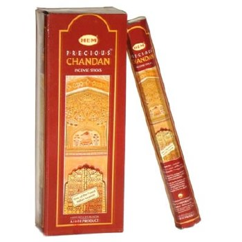 Hem Precious Chandan Incense Sticks (Pack of 6)