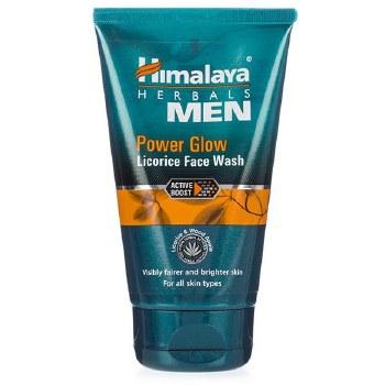 HIMALAYA MEN POWER GLOW LICORICE FACEWASH 100ML