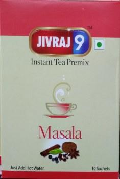 JIVRAJ 9 INSTANT MASALA TEA 10CT