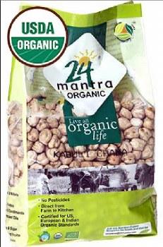 24 Mantra Organic Kabuli Chana 2lb