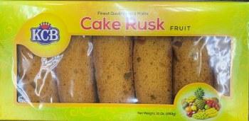 Kcb Fruit Cake Rusk 10oz