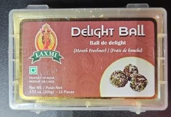 LAXMI DELIGHT BALLS MOUTH FRESHNER 15PC