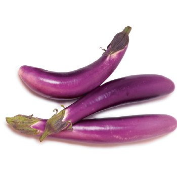 Fresh Long Eggplant - Chinese Eggplant - Sold by Weight