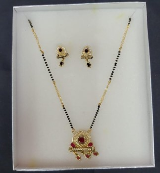 ANTIC MANGALSUTRA WITH EARRINGS
