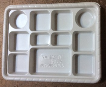 Plastic Plate 11 Section