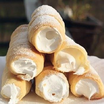 Puff Cream Roll Vanilla