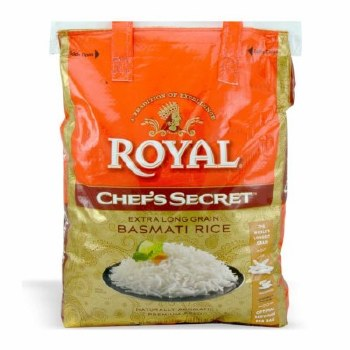 Royal Chef's Secret Basmathi Rice 20LB