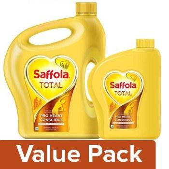 SAFFOLA TOTAL VEGETABLE EDIBLE OIL 5 LITRE