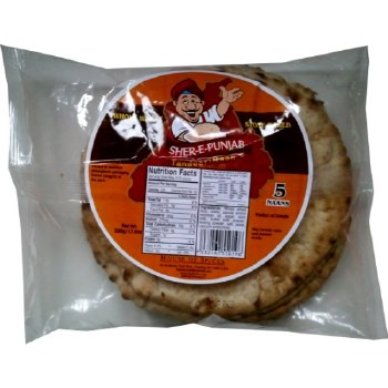SHER-E-PUNJAB TANDOORI WHOLE WHEAT NAAN 500 GM