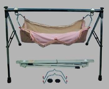 Stainless Steel Folding Baby Swing