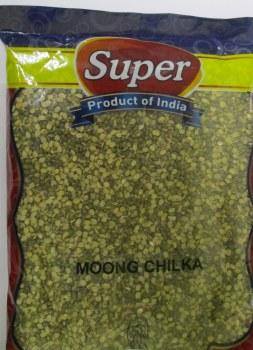 SUPER GREEN GRAM WITH SKIN MOONG CHILKA 7LB
