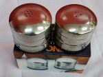 STEEL SALT AND PEPPER CONTAINER