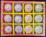 FANCY CLAY (ROUND) DIYAS/DIWA NO WAX 12PC SET