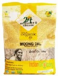 24 MANTRA ORGANIC YELLOW MOONG DAL 4 LB