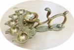 Brass Nag Arti