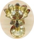 Brass Akhand Long Diya