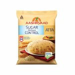 AASHIRWAD SUGAR FREE WHOLE WHEAT FLOUR - ATTA - 5KG -11 LBS