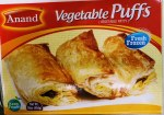ANAND FROZEN VEGETABLE PUFFS 16OZ