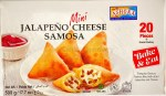 ASHOKA MINI JALAPENO CHEESE SAMOSA 20PC