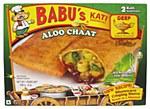 BABU'S FROZEN ALOO CHAT 8 OZ