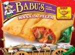 BABU'S FROZEN MASALA PIZZA 9 OZ