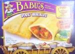 BABU'S FROZEN PAU BHAJI 9 OZ