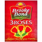 BROOK BOND RED ROSE BLACK TEA 216 BAGS