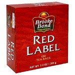 BROOKE BOND RED LABEL TEA BAGS 100 CT