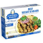 COLONEL KABAB BEEF SEEKH KABABS 16 CT