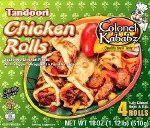 COLONEL KABABZ CHICKEN 4 ROLLS