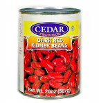 Cedar Red Kidney Beans 20oz