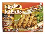 COLONEL KABABZ FROZEN SEEKH KABAB CHICKEN 8CT