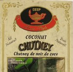 DEEP COCONUT CHUTNEY 10OZ