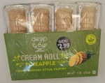 Deep Pineapple Cream Roll 4pc