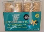 Deep Vanilla Cream Roll 4pc