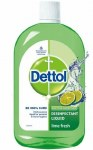 DETTOL DISINFECTANT LIQUID (GREEN LIME) 500ML