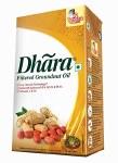 DHARA GROUNDNUT/ PEANUT OIL 1 LT