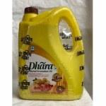 DHARA GROUNDNUT/ PEANUT OIL 5 LT