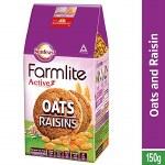 SUNFEAST FARMLITE ACTIVE OATS AND RAISINS COOKIES 150GM