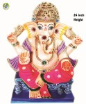 Ganesh Visarjan Divine 24inch