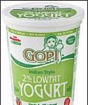 GOPI YOGURT LOW FAT 4LB