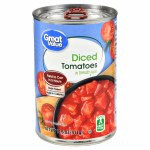 GREAT VALUE DICED TOMATOES CAN 14.5 OZ